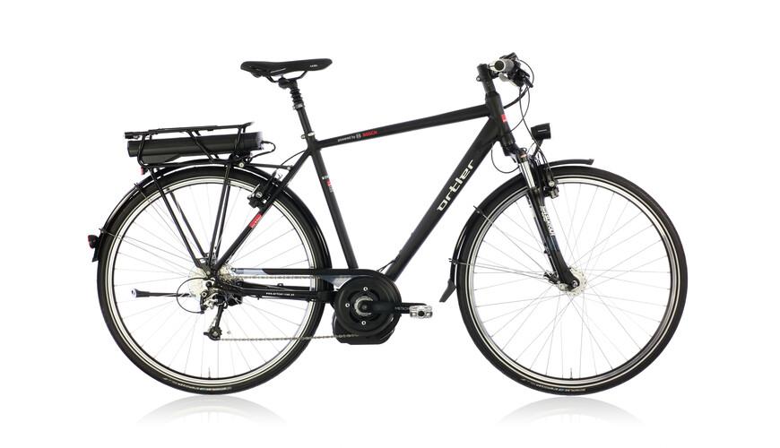 Ortler Montreux Bosch XT Elcykel Herr svart - till fenomenalt pris på Bikester